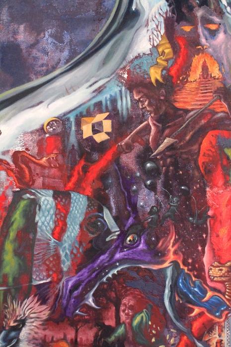 Juan Sinamakan detail 1