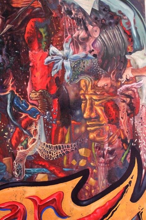 Juan Sinamakan detail 2