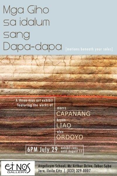 Mga Giho sa Idalum sang Dapa-dapa [poster]