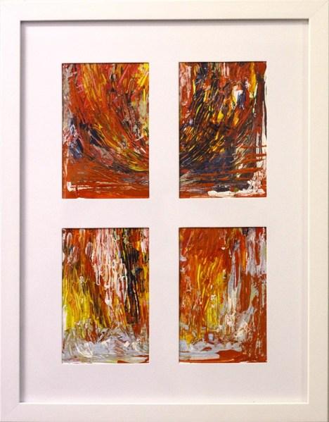 Ako, Sila kag ang Bintana - acrylic on paper - 6 inches 9 inches (2) - 2015
