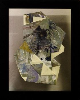 Sa Likod nga Bahin I - acrylic on paper - 6 inches x 4 inches (approx) - 2015