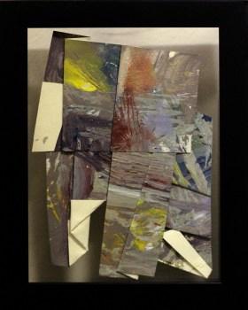 Sa Likod nga Bahin II - acrylic on paper - 6 inches x 4 inches (approx) - 2015