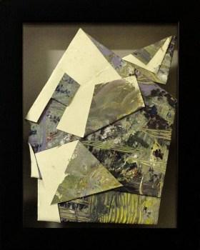 Sa Likod nga Bahin III - acrylic on paper - 6 inches 4 inches (approx) - 2015