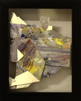 Sa Likod nga Bahin IV - acrylic on paper - 6 inches x 4 inches (approx) - 2015