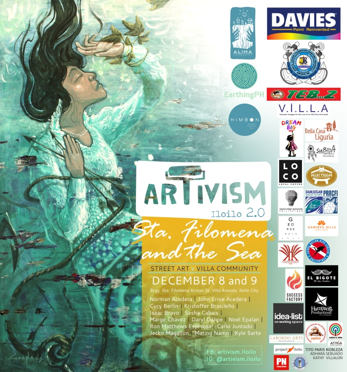 Artivism 2 - Sta Filomena and the Sea [poster]